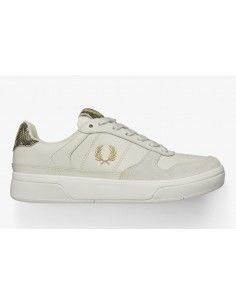 FRED PERRY Embossed Leather...