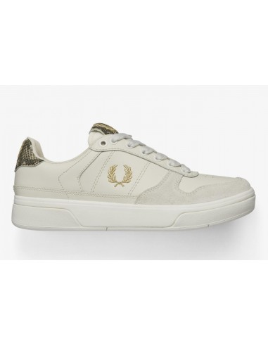 FRED PERRY Embossed Leather Suede